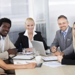 How can conference calling promote gender diversity? (Image credit: Thinkstock/iStock)