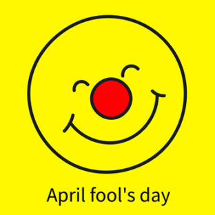 Picture of April fool for website